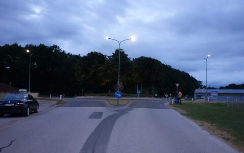 Kreisverkehr Aschbach (AT)